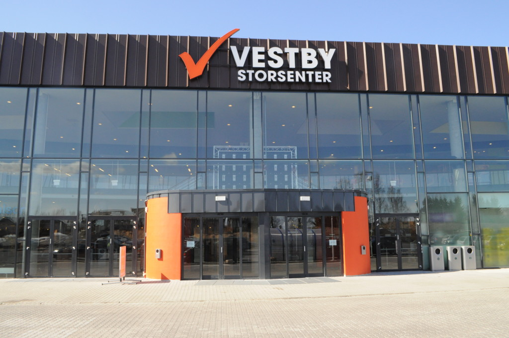Inngangsparti Vestby
